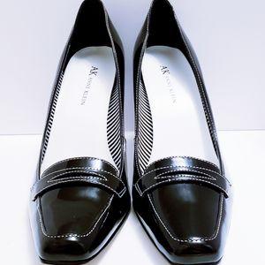 🌷New3🌷Anne Klein Black Leather Upper Heels
